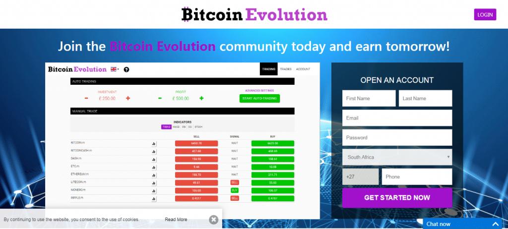 Bitcoin Evolution Ứng dụng Bitcoin Evolution hoạt động như thế nào?