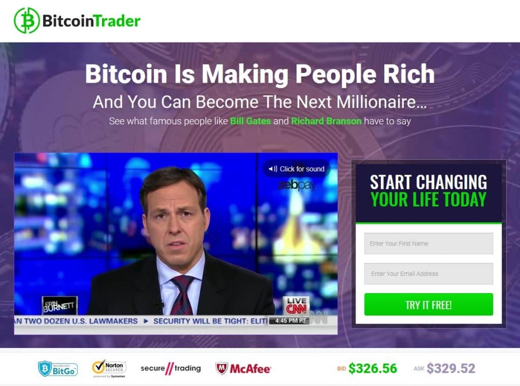 Bitcoin Trader Ứng dụng Bitcoin Trader hoạt động như thế nào?